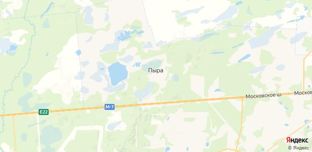 Пыра на карте