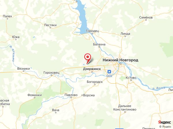 посёлок Пыра на карте