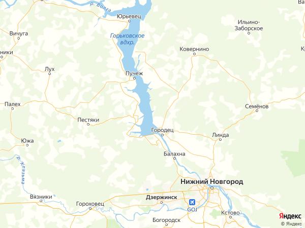 деревня Фалино-Пестово на карте