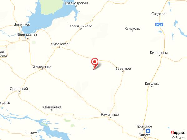 хутор Красный Курган на карте