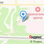 Городская больница №7 на карте Дзержинска