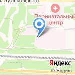 Скорая медицинская помощь на карте Дзержинска