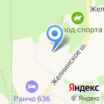 Город спорта на карте Дзержинска