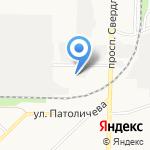 Бош на карте Дзержинска