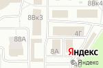 Схема проезда до компании Узбекская кухня в Дзержинске