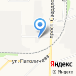 АВТО-КУЗОВ на карте Дзержинска