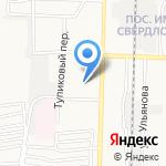 Дзержинская специальная (коррекционная) школа на карте Дзержинска