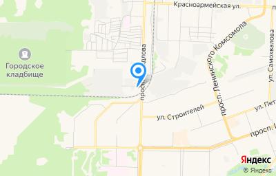 Местоположение на карте пункта техосмотра по адресу Нижегородская обл, г Дзержинск, пр-кт Свердлова, д 57