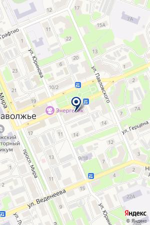 ПРОМТОВАРНЫЙ МАГАЗИН СВЕТЛАНА на карте Заволжья