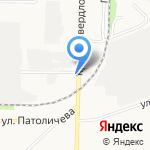 Реал-Инвест на карте Дзержинска