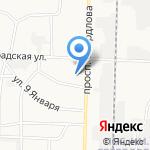 Средняя общеобразовательная школа №1 на карте Дзержинска