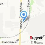 Mega Avto на карте Дзержинска