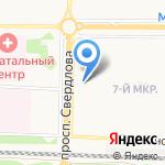Кольцо на карте Дзержинска
