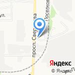 Баня на карте Дзержинска