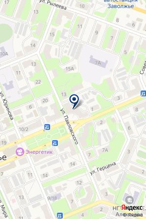 МУП АПТЕКА № 151 на карте Заволжья