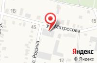 Схема проезда до компании Новинское в Незлобной