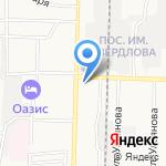 Платежный терминал на карте Дзержинска