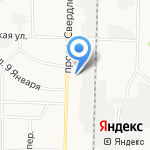 Закусочная на карте Дзержинска