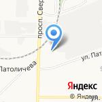 Баранка на карте Дзержинска