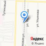 ОКНА ПОВОЛЖЬЯ на карте Дзержинска