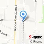 Прометей на карте Дзержинска