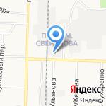 Сом на карте Дзержинска