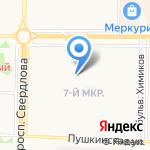 Детский сад №61 на карте Дзержинска