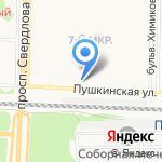 Флирт на карте Дзержинска