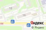 Схема проезда до компании Волго-Вятский банк Сбербанка России в Дзержинске