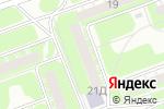 Схема проезда до компании Учебный центр в Дзержинске