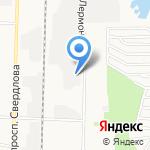 Вернайс на карте Дзержинска