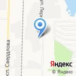 Дива на карте Дзержинска