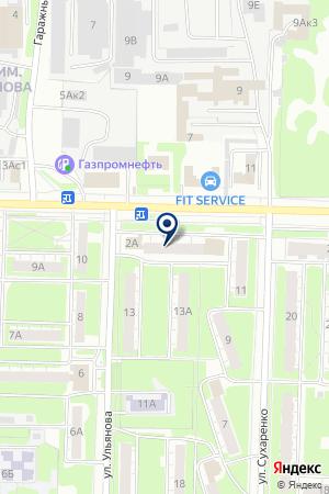 ПКФ КОНТАКТ на карте Дзержинска