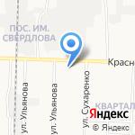 Пчелка на карте Дзержинска
