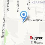 Средняя общеобразовательная школа №33 на карте Дзержинска