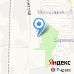 Уран на карте Дзержинска