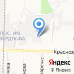Мебельная компания на карте Дзержинска