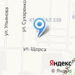 Облик на карте Дзержинска