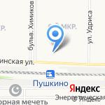 Квант на карте Дзержинска