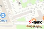 Схема проезда до компании Фасон в Дзержинске