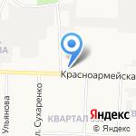 Мемориал на карте Дзержинска