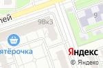 Схема проезда до компании Молодежный в Дзержинске