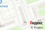 Схема проезда до компании Студия ногтевого дизайна в Дзержинске