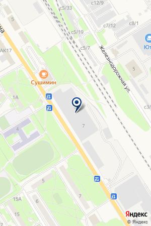 АВТОСТОЯНКА ЦЕНТР-АВТО на карте Заволжья
