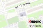 Схема проезда до компании Детская школа искусств №7 в Дзержинске