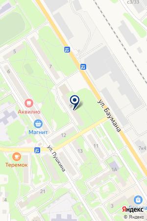 ИНТЕРНЕТ-КАФЕ АНСИ на карте Заволжья