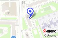 Схема проезда до компании ТУРИСТИЧЕСКАЯ ФИРМА СПЕЙС-ТУР в Дзержинске