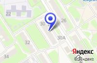 Схема проезда до компании ТД ПУШКИНСКИЙ в Заволжье