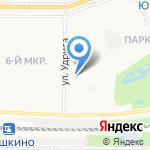 Тигруля на карте Дзержинска