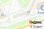 Схема проезда до компании Миледи в Дзержинске